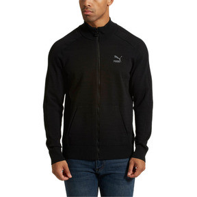 Thumbnail 2 of Men's T7 evoKnit Jacket, Puma Black, medium