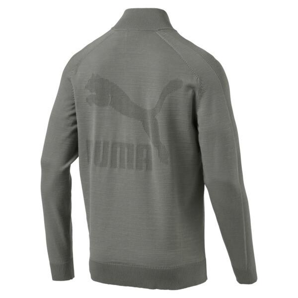 Men's T7 evoKnit Jacket, Castor Gray, large