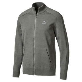 Thumbnail 1 of Men's T7 evoKnit Jacket, Castor Gray, medium