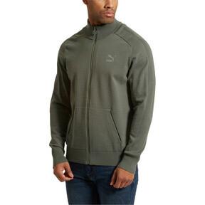 Thumbnail 2 of Men's T7 evoKnit Jacket, Castor Gray, medium