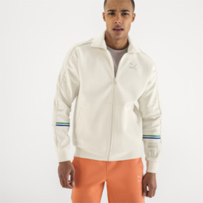 Thumbnail 2 of PUMA x BIG SEAN T7 Track Jacket, Whisper White, medium