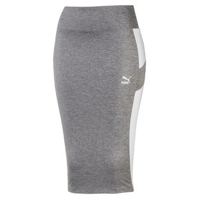 Thumbnail 1 of Women's Pencil Skirt, Medium Gray Heather, medium
