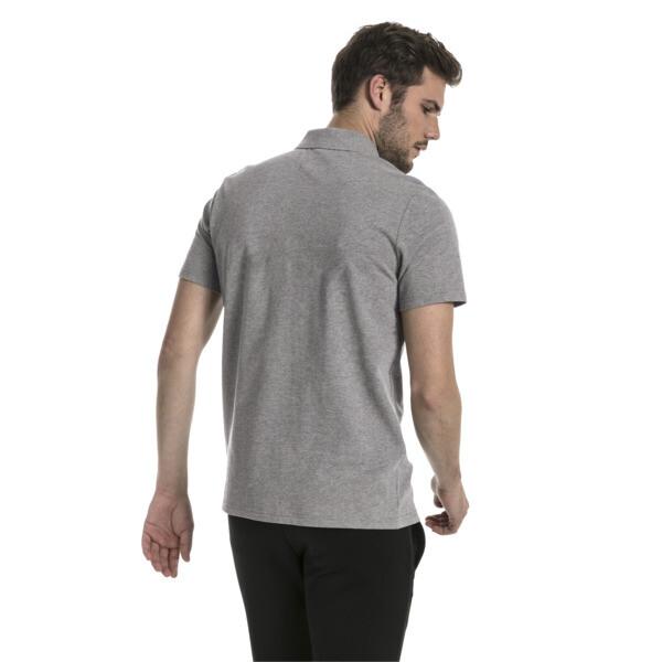 Polo MERCEDES AMG PETRONAS T7 pour homme, Medium Gray Heather, large