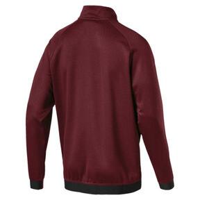 Thumbnail 2 of Men's Envoy 1/4 Zip Sweater, Pomegranate, medium