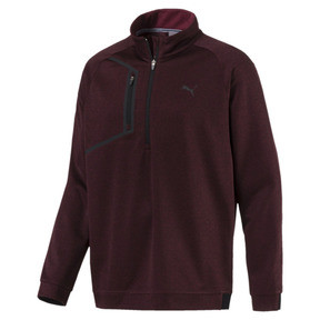 Thumbnail 1 of Men's Envoy 1/4 Zip Sweater, Pomegranate, medium