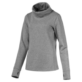 Thumbnail 1 of Golf Damen Bequemer Pullover, Medium Gray Heather, medium