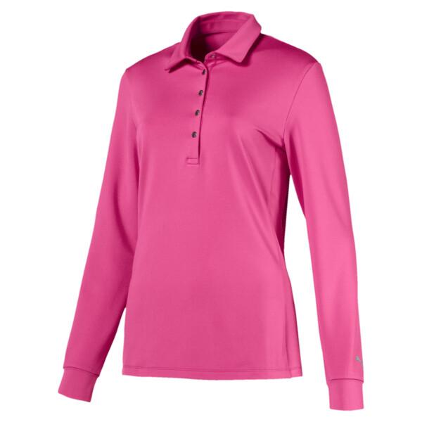 Women's Long Sleeve Polo, 03, large