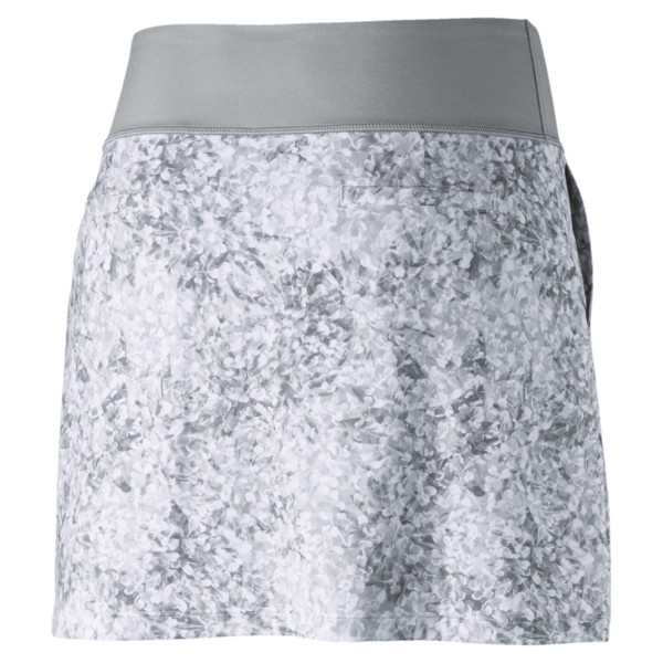 Golf Women's PWRSHAPE Floral Knit Skirt, Quarry, large