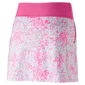 Thumbnail 4 of Golf Women's PWRSHAPE Floral Knit Skirt, Carmine Rose, medium