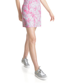 Thumbnail 2 of Golf Women's PWRSHAPE Floral Knit Skirt, Carmine Rose, medium