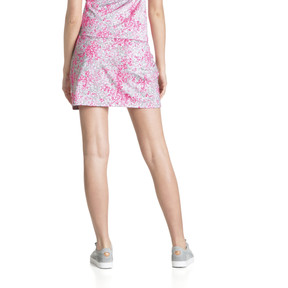 Thumbnail 3 of Golf Women's PWRSHAPE Floral Knit Skirt, Carmine Rose, medium