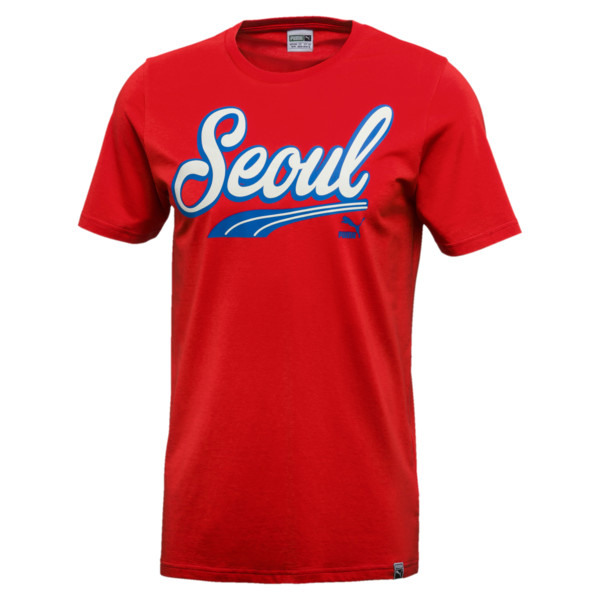 Breakdance Tee, Flame Scarlet-Seoul, large