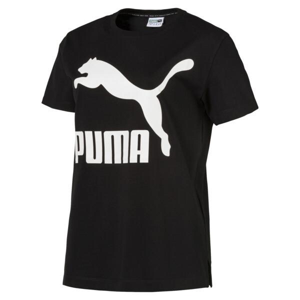 54a91b7a Classics Logo Women's T-Shirt | Cotton Black | PUMA Clothing | PUMA ...