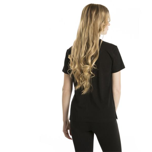 Classics Logo Women's T-Shirt, Cotton Black, large