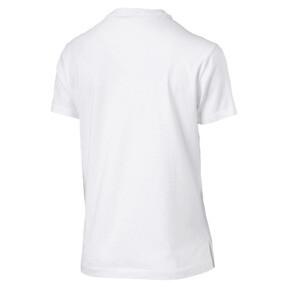 Thumbnail 4 of Classics Logo Women's T-Shirt, Puma White--Gold, medium