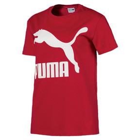 Thumbnail 1 of Classics Damen Logo T-Shirt, Ribbon Red, medium