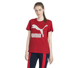 Thumbnail 2 of Classics Damen Logo T-Shirt, Ribbon Red, medium