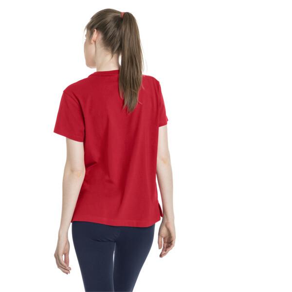 Classics Damen Logo T-Shirt, Ribbon Red, large