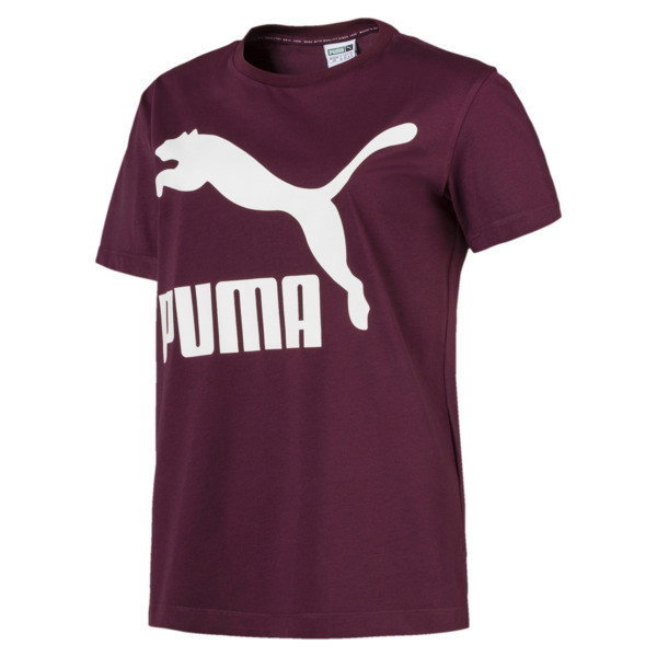 Classics Damen Logo T-Shirt, Fig, large