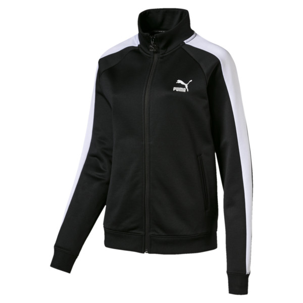 Classics Damen T7 Trainingsjacke, Puma Black, large