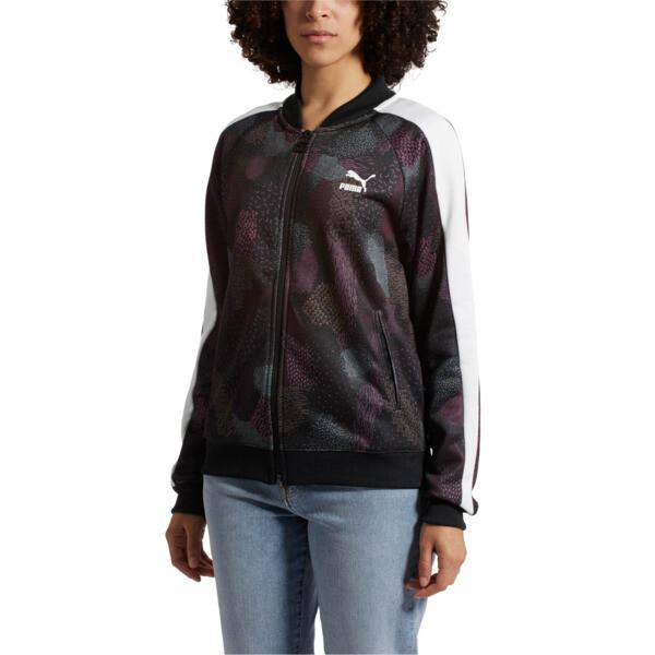 Classics T7 Track Jacket AOP, Puma Black, large