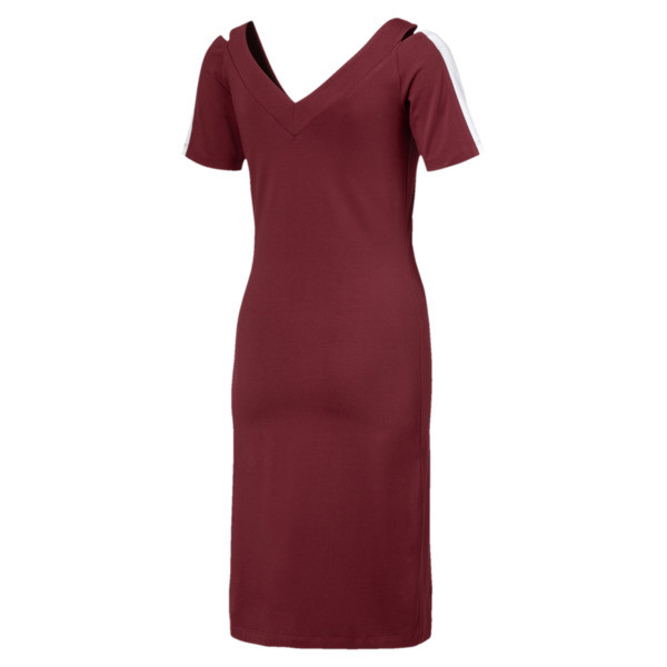 Classics Women's T7 Dress, Pomegranate, large