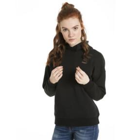 Miniatura 2 de Chaqueta con capucha Retro para mujer, Cotton Black, mediano