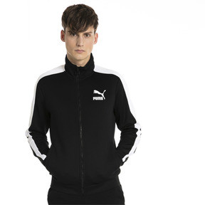Thumbnail 2 of Classics T7 Men's Track Jacket, Puma Black, medium