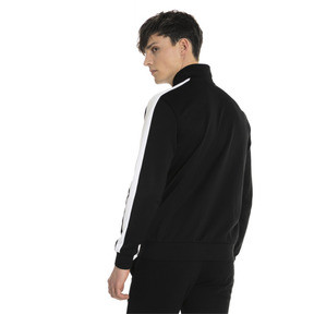 Thumbnail 3 of Classics T7 Men's Track Jacket, Puma Black, medium