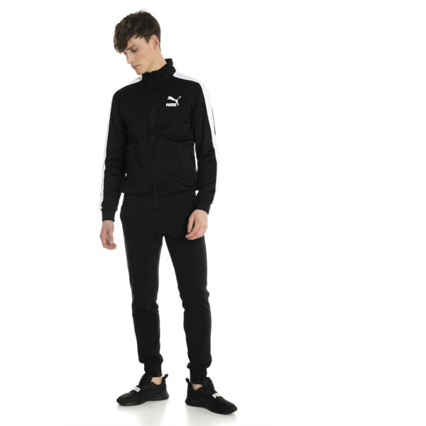 Classics T7 Men's Track Jacket, Puma Black, large