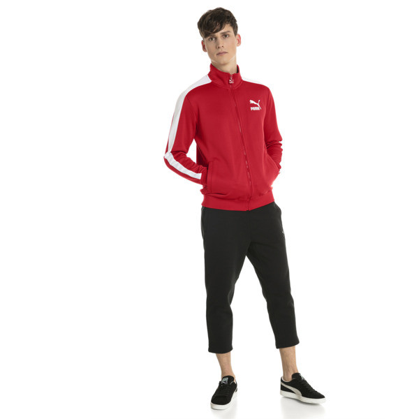 Classics T7 Men's Track Jacket, Ribbon Red, large