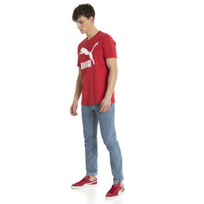 Thumbnail 5 of Classics Logo Men's Tee, Ribbon Red-1, medium