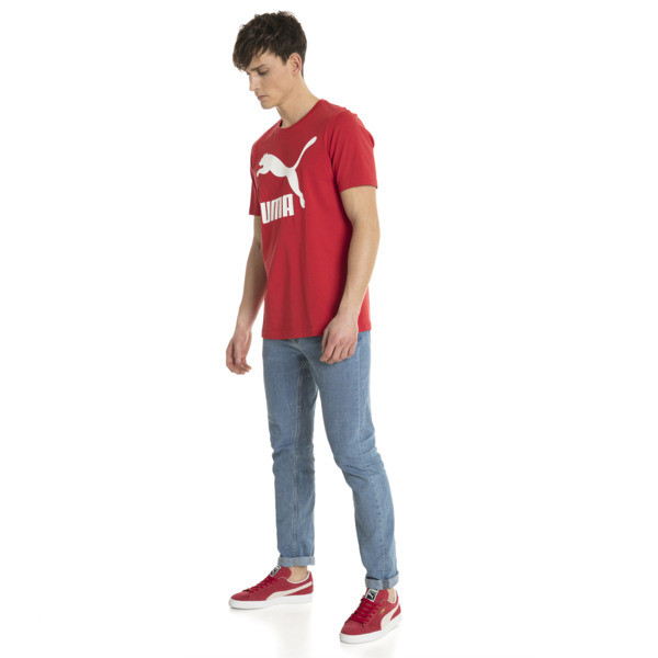 Classics Logo Men's Tee, Ribbon Red-1, large