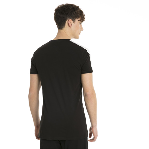 Classics Slim T7 Men's Tee, Cotton Black, large