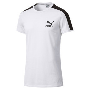 Thumbnail 1 of Classics Slim T7 Men's Tee, Puma White, medium