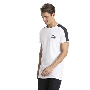 Thumbnail 2 of Classics Slim T7 Men's Tee, Puma White, medium