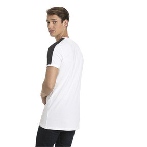 Thumbnail 3 of Classics Slim T7 Men's Tee, Puma White, medium