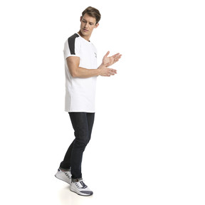 Thumbnail 5 of Classics Slim T7 Men's Tee, Puma White, medium
