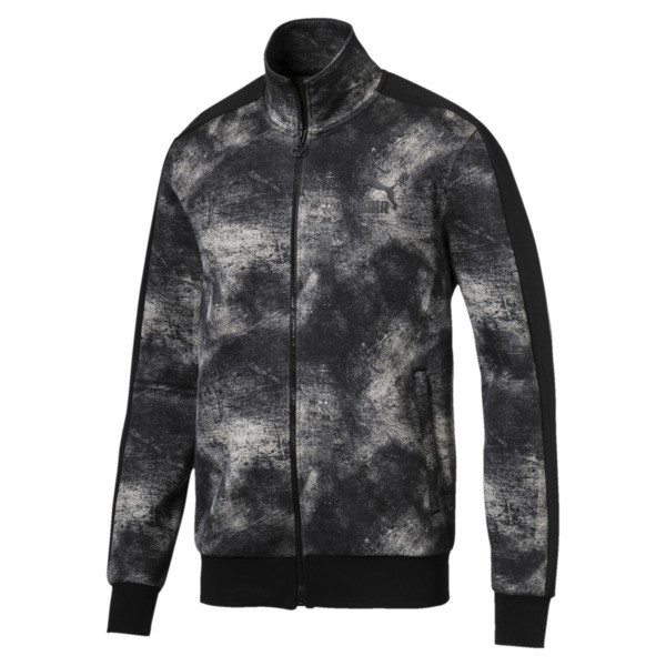 Classics All-Over Print T7 Men's Jacket, Elephant Skin, large