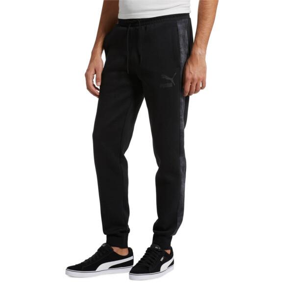 Classics All-Over Print T7 Men's Pants, Puma Black-3, large
