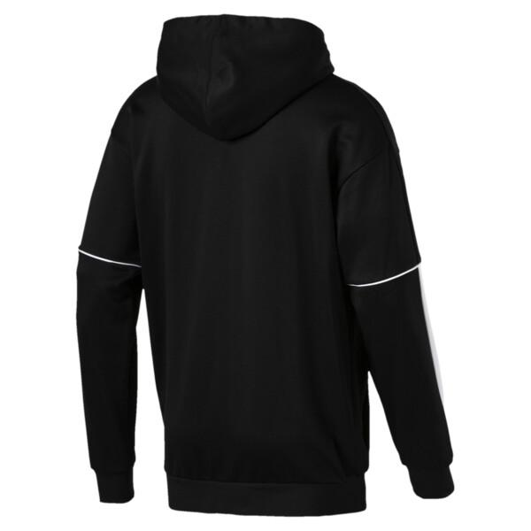 Retro Men's Full Zip Hoodie, Puma Black, large