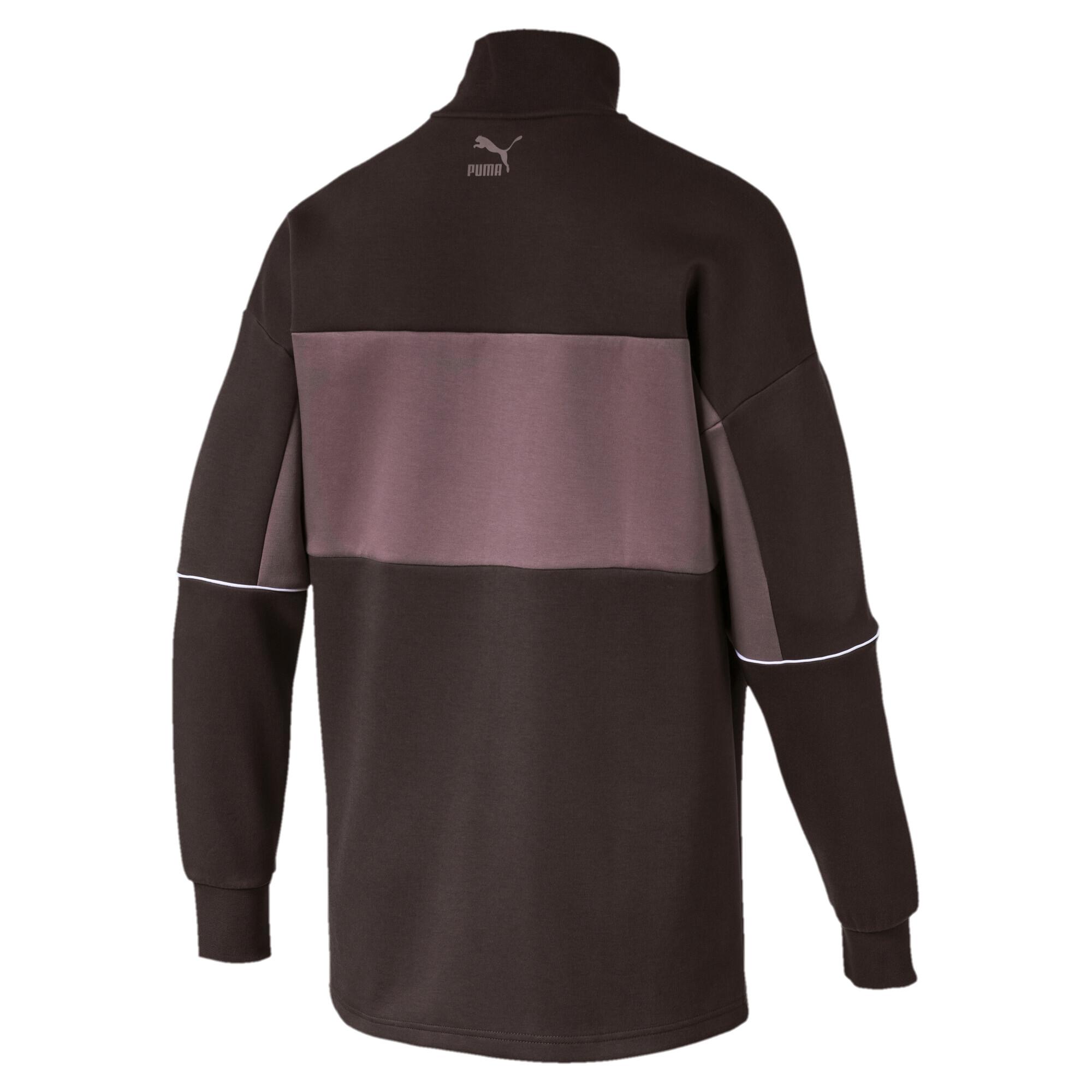 Image Puma Retro Quarter Zip Turtleneck Men's Pullover #5