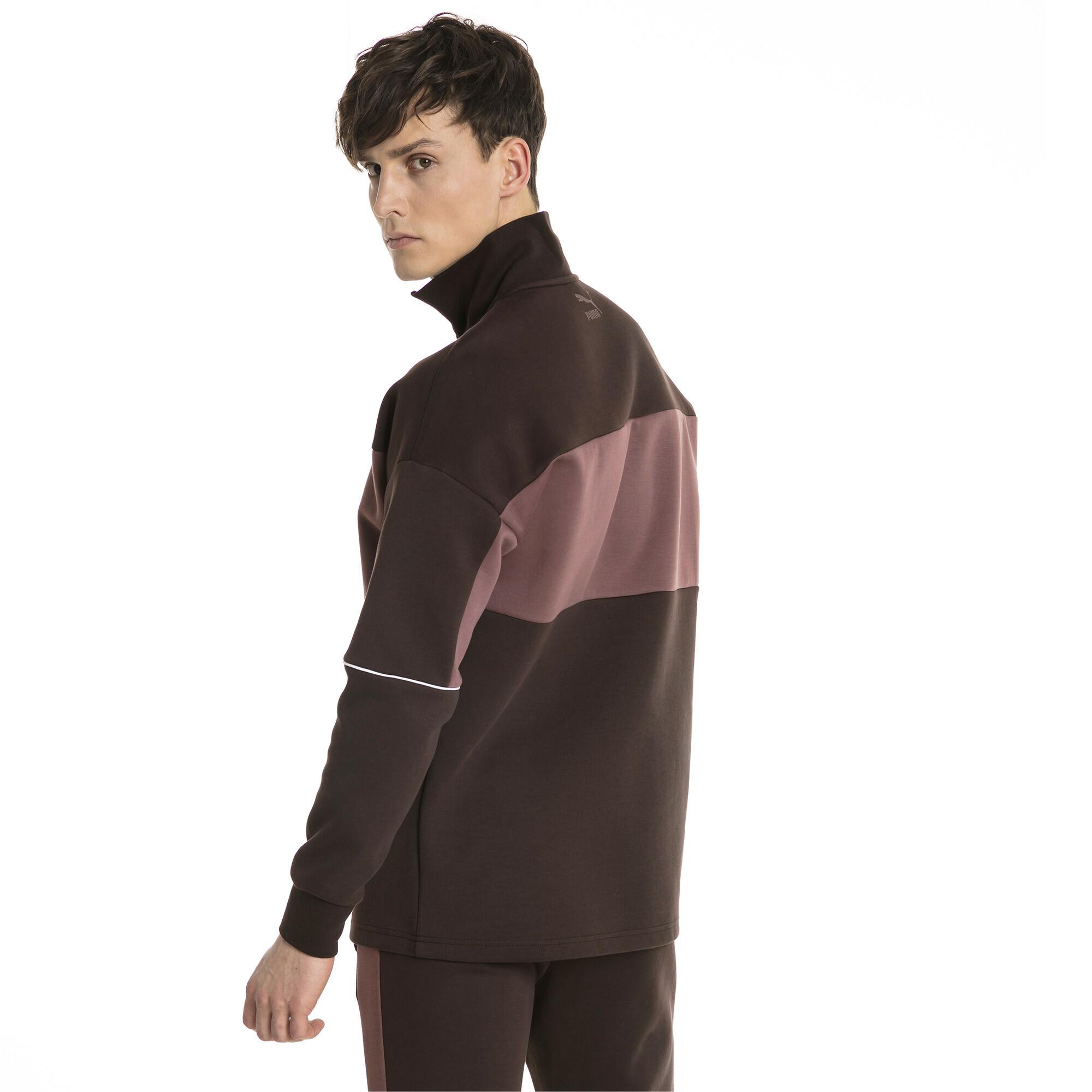 Image Puma Retro Quarter Zip Turtleneck Men's Pullover #2
