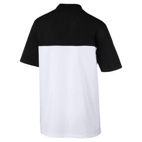 Thumbnail 3 of Retro Short Sleeve Men's Tee, Cotton Black-1, medium