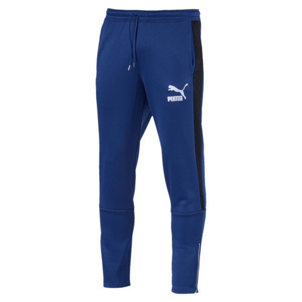 Archive Retro Quilted Men's Sweatpants, Sodalite Blue, large