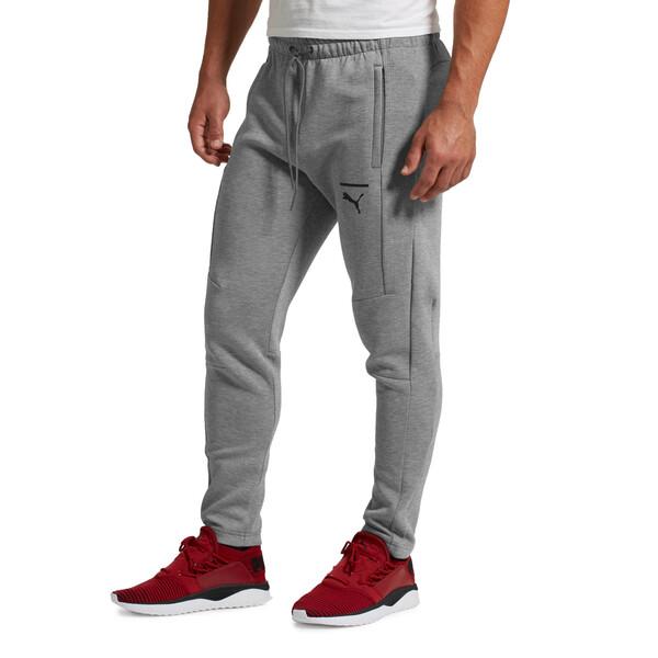 Pace Men's Sweatpants, Medium Gray Heather, large