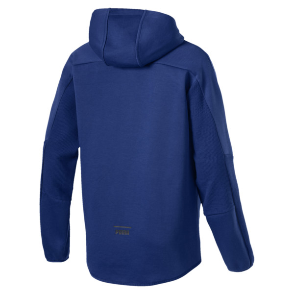 Pace Full Zip Men's Hoodie, Sodalite Blue, large