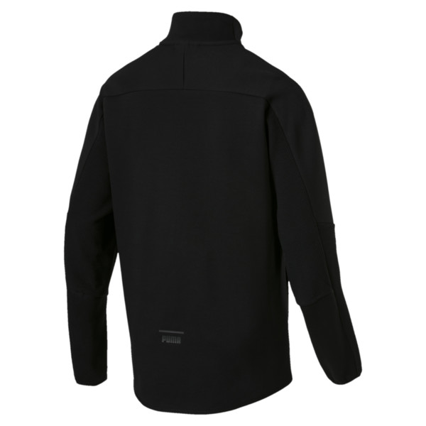 Pace Savannah Quarter Zip Men's Pullover, Puma Black, large