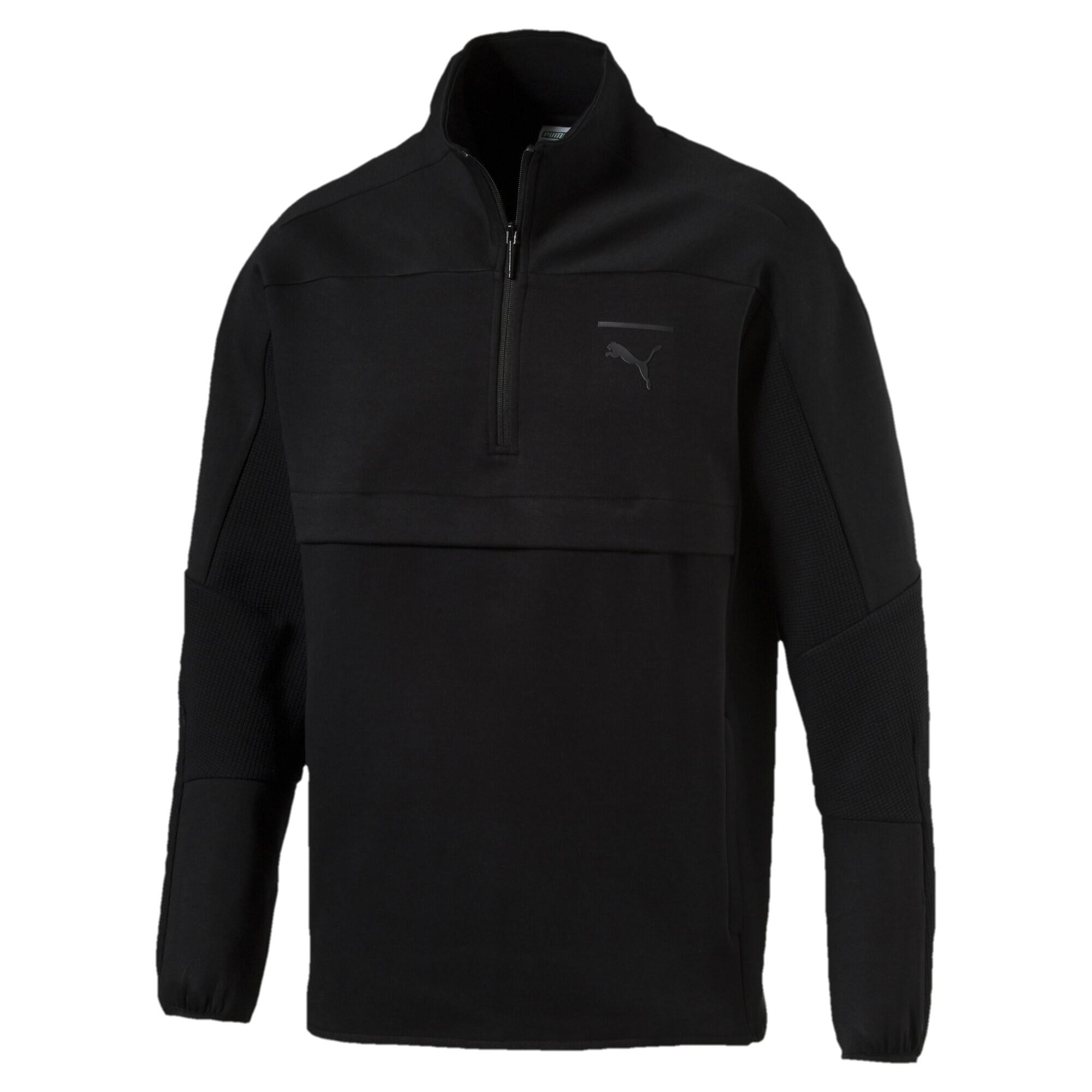 Image Puma Pace Savannah Quarter Zip Men's Pullover #4