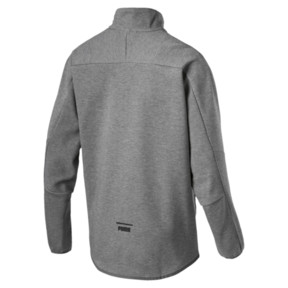 Thumbnail 2 of Pace Savannah Quarter Zip Men's Pullover, Medium Gray Heather-MGH, medium
